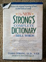 Book - Strong's Complete Dictionary of Bible Words in Beaufort, South Carolina