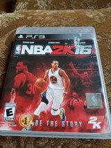 NBA 2k 16 ps3 in Plainfield, Illinois