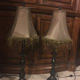 2 lamps with shades in Vacaville, California