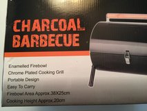 Portable Barrell Barbque Grill NEW in Naperville, Illinois