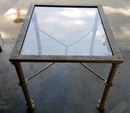 Metal and Glass Top Coffee/End Table in Byron, Georgia