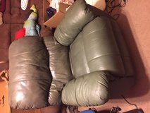 real leather reclining chair in Fairfax, Virginia