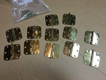 6 Sets of Brass Door Hinges in Chicago, Illinois