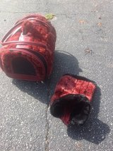 Designer Pet carrier with matching sweater Reduced. in Bartlett, Illinois