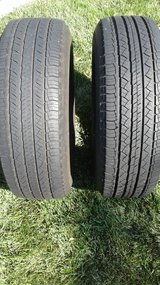 TIRES, Michelin Latitude Tour All Season Mud & Snow.  Two Available in Fairfield, California