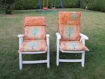 2 folding lawn chairs in Ramstein, Germany