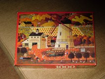 "1000 pc puzzle ""pumpkin picking"" in Lockport, Illinois"