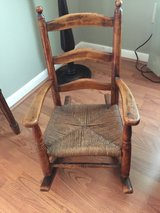 Antique Child's Rocking Chair in Beaufort, South Carolina
