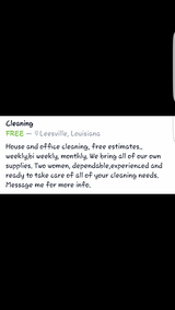 House keeping in Fort Polk, Louisiana