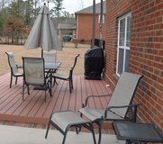 Glass patio table & chairs set -Parsberg in Hohenfels, Germany