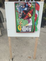 A-Line Art Easel (w/ giant coloring pages) in Beaufort, South Carolina