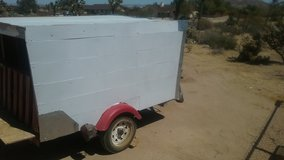 8x5 covered tilt trailer in Yucca Valley, California