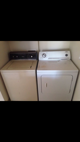 Dryer and washer in Fort Lewis, Washington