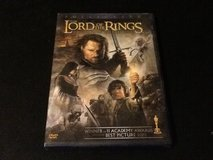Lord of the Rings The Return of the King dvd in Yucca Valley, California