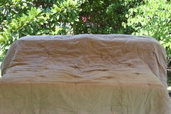 Comforter - full/queen size - suede look and feel - sand color in Cherry Point, North Carolina