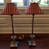 Pair of 2 Buffet Lamps by Frederick Cooper in St. Charles, Illinois