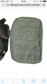 Gas Mask Canister Pouch in Riverside, California