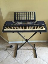 Yamaha Keyboard with stand - Like New in Houston, Texas