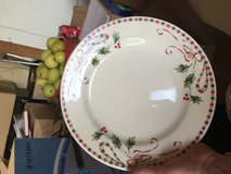 Christmas dishes in Fort Bliss, Texas