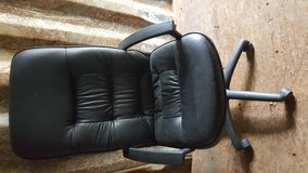 Black Leather Chair in Houston, Texas