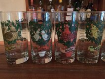 Vintage Days of Christmas Barware set tumblers in Beaufort, South Carolina