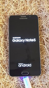 Note5 Samsung Galaxy SM-N920 32GB Black Sapphire (Verizon) GREAT SHAPE. Works Great! in Alamogordo, New Mexico