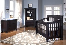 Baby Crib (Everything Nice Collection Spice Crib-Espresso) in Kingwood, Texas