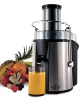 The Sharper Image 8021SI Stainless-Steel 700-Watt Super Juicer in Camp Pendleton, California