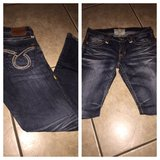 Dark denim jeans in Lawton, Oklahoma