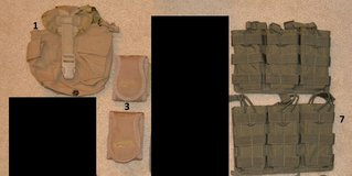 Voodoo Tactical AR15, utility, canteen pouches in Oceanside, California