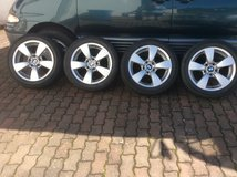 "BMW 17"" rims with 225/50 R17 tires in Ramstein, Germany"
