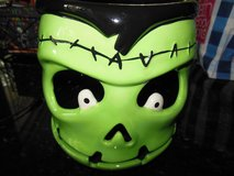 Halloween Frankstein candy bowl or tea light holder in Algonquin, Illinois