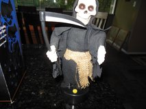 Halloween Grim Reaper motion moving monster in Glendale Heights, Illinois