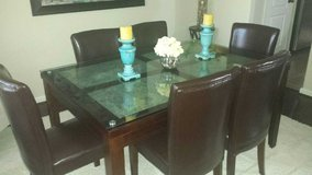 Fabulous six seat dinning table in Baytown, Texas
