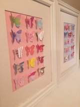 Girls 3D butterfly pictures in Camp Lejeune, North Carolina