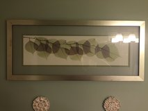 Framed leaf pictures, from bed bath and beyond in Camp Lejeune, North Carolina