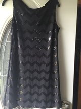 Sequence black dress in Naperville, Illinois