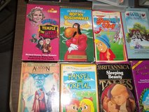 110 VHS CHILDRENS MOVIES in Byron, Georgia
