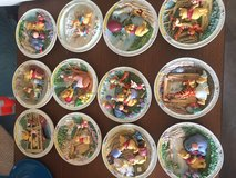 Winnie the Pooh collectors plates all 12 in issue in Naperville, Illinois