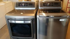 Beautiful LG washer and dryer in Houston, Texas
