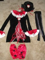 """GIRLS CUTE """"SKELETON ACCENT"""" HALLOWEEN OUTFIT in Camp Lejeune, North Carolina"""