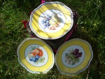 Set of 3 decorative plates in Ramstein, Germany