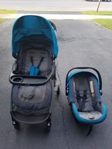 Safety 1st travel system (stroller and carseat) in Chicago, Illinois