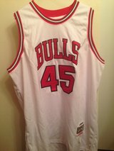 MICHAEL JORDAN Chicago Bulls #45 Mitchell & Ness Hardwood Classic WHT *NEW* in Tyndall AFB, Florida