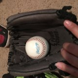 Kids Baseball Gloves with Balls in Conroe, Texas
