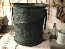 Collapsible garbage can in Alamogordo, New Mexico