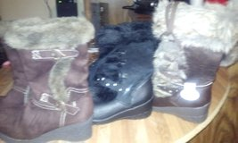 3 pair of new girls boots in Beaufort, South Carolina