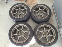P1 Racing rims with Kenda Radial tires in Fort Bliss, Texas