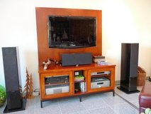 Solid Cherry Home Entertainment Center Cabinet in Heidelberg, GE