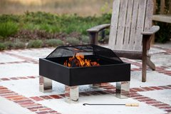new Square Fire Pit and BBQ in Ramstein, Germany